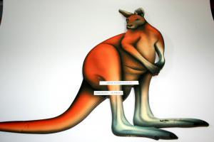 Floor Puzzle - Kangaroo