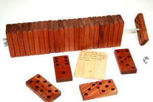 Red Cedar Dominoes