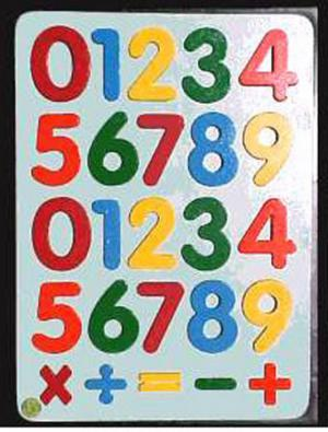Raised Picture Puzzle - Basic Maths