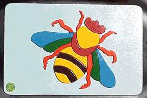 Raised Picture Puzzle - Bee
