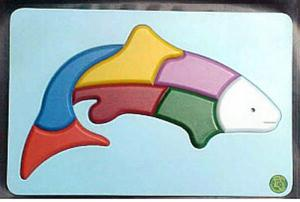 Raised Picture Puzzle - Fish