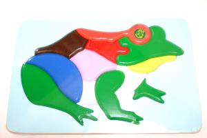 Raised Picture Puzzle - Frog