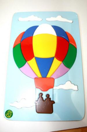 Raised Picture Puzzle - Hot Air Balloon
