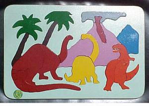 Raised Picture Puzzle - Land Before Time