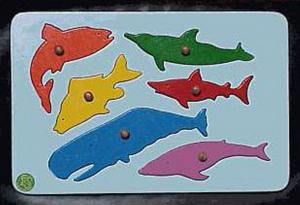 Raised Picture Puzzle - Aquarium