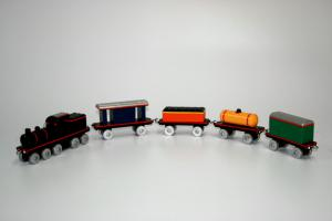 5 Piece Train Set