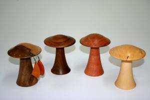 Mushroom Earring Holder