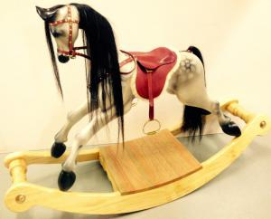 Terry Horse - Small Dappled Bow Rocker