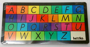 Double Layered Puzzle - Uppercase and Lowercase Alphabet