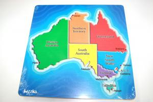 Map Of Australia Double Layer Puzzle