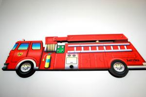 Table Puzzle - Fire Engine