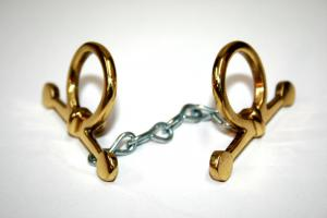 Rocking Horse Accessory - Brass Bit