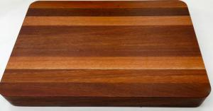 Chopping Board - Long Grain Thick Jarrah Small