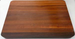 Chopping Board - Long Grain Thick Jarrah Large