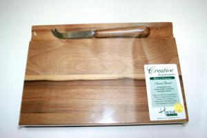 Sassafras Cheese Board and Knife