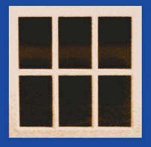 Doll House Parts - Single Pane Window