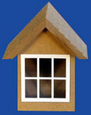 Doll House Parts - Dormer Window