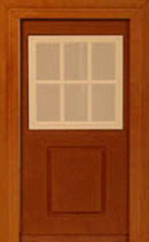 Doll House Parts - Door Single Window
