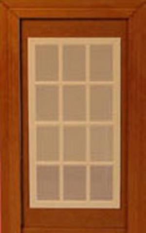 Doll House Parts - Door Double Window