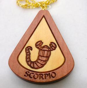 Zodiac Pendant - Scorpio