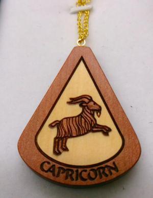Zodiac Pendant - Capricorn