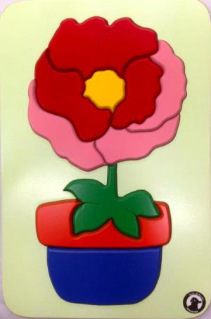 Raised Picture Puzzle - Flower