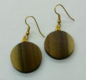 Sassafras Round Earrings