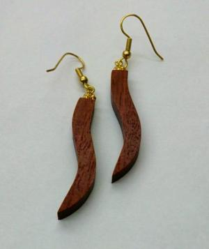 Jarrah Wave Earrings