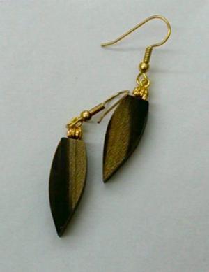 Sassafras Leaf Earrings