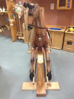 Turned Head Rocking Horse