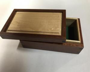 Jarrah and Rock Maple box